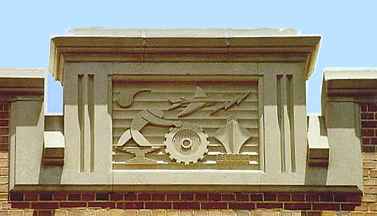 Relief, Matherly Hall